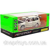 Машинка игровая автопром «Lexus LX570» Лексус джип, металл, 18 см, Белый (свет, звук, двери открываются) 7691, фото 7