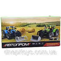 Машинка игровая автопром «Трактор» Синий-2, 20 см (7924AB), фото 2