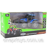 Машинка игровая автопром «Трактор» Синий-2, 20 см (7924AB), фото 3
