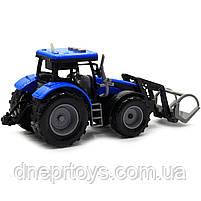 Машинка игровая автопром «Трактор» Синий-2, 20 см (7924AB), фото 5