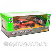 Машинка іграшкова Автопром на радіокеруванні Audi R8 червоний (8813), фото 3