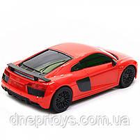 Машинка іграшкова Автопром на радіокеруванні Audi R8 червоний (8813), фото 5
