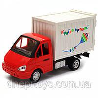 Машинка іграшкова Автопром «Вантажівка. Країна іграшок» (світло, звук, пластик), 20х7х11 см (7660-6), фото 2