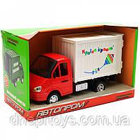 Машинка іграшкова Автопром «Вантажівка. Країна іграшок» (світло, звук, пластик), 20х7х11 см (7660-6), фото 3