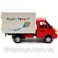 Машинка іграшкова Автопром «Вантажівка. Країна іграшок» (світло, звук, пластик), 20х7х11 см (7660-6), фото 4