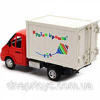 Машинка іграшкова Автопром «Вантажівка. Країна іграшок» (світло, звук, пластик), 20х7х11 см (7660-6), фото 5