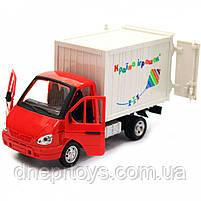 Машинка іграшкова Автопром «Вантажівка. Країна іграшок» (світло, звук, пластик), 20х7х11 см (7660-6), фото 6
