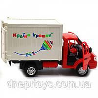 Машинка іграшкова Автопром «Вантажівка. Країна іграшок» (світло, звук, пластик), 20х7х11 см (7660-6), фото 7