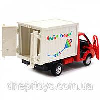 Машинка іграшкова Автопром «Вантажівка. Країна іграшок» (світло, звук, пластик), 20х7х11 см (7660-6), фото 8