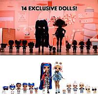 ЛОЛ Дивовижний Сюрприз набір 14 ляльок та 70+ сюрпризів L. O. L. Surprise! Amazing Surprise
