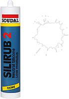 Силикон нейтральный 300мл /белый/ Silirub 2 SOUDAL