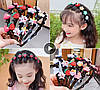 Детский обруч для волос с заколками, детские аксессуары, фото 6
