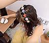 Детский обруч для волос с заколками, детские аксессуары, фото 5