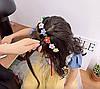 Детский обруч для волос с заколками, детские аксессуары, фото 3