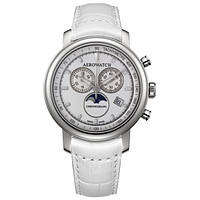 Авіаційний швейцарський годинник Aerowatch Renaissance Chronograph Moon-Phases 84936AA04, фото 1