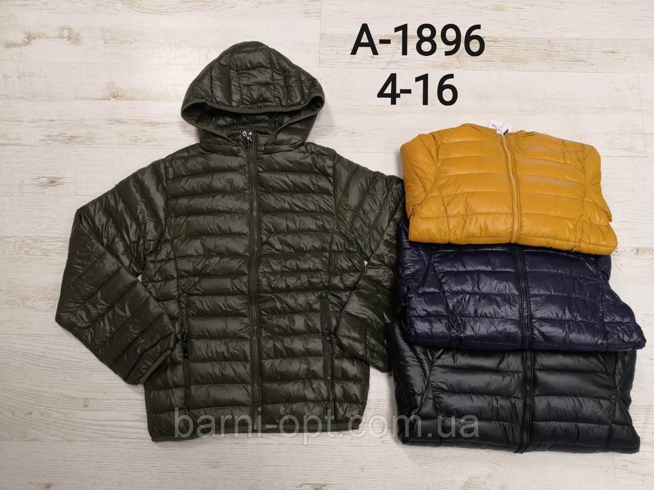 Куртки на мальчиков оптом, Sincere, 4-16 рр