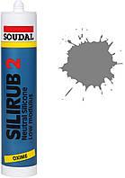 Силикон нейтральный 300мл /серый/ Silirub 2 SOUDAL