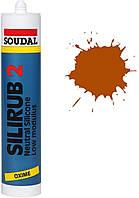 Силикон нейтральный 300мл /коричневый/ Silirub 2 SOUDAL