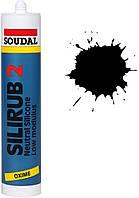 Силикон нейтральный 300мл /черный/ Silirub 2 SOUDAL