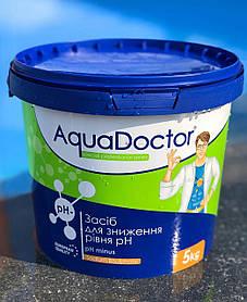 Хімія для басейну AquaDoctor pH Minus | засіб для зменшення рівня pH у гранулах (5 кг)