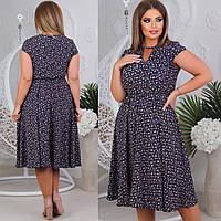 Сукня жіноча у великому розмірі багато кольорів, фото 1