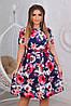 Сукня жіноча в кольорах у великому розмірі