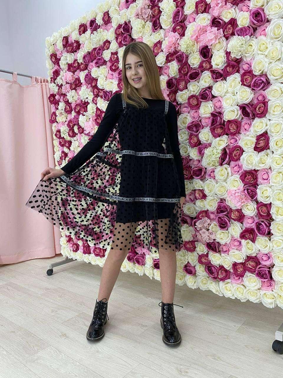 Сукня футляр для дівчинки р. 128-164 см від 8 до 15 років