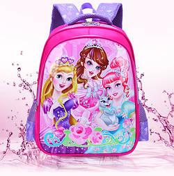 Рюкзак школьный для девочек 1-4 класс Принцесса