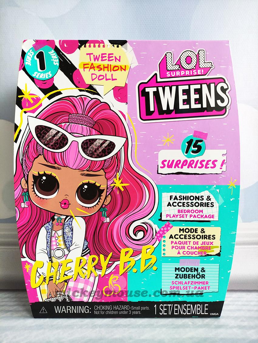 Лялька ЛОЛ Підлітки Черрі-леді серії Tweens LOL Surprise Tweens Cherry B.B. 576709
