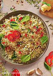 Faberlic Кускус с овощами и шпинатом Nechaev Family Club арт 16107