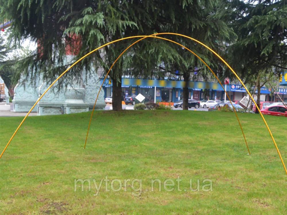 Комплект дуг для палатки 11 секций 2 шт  Золотистый