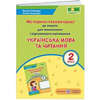 НУШ Методичні рекомендації до зошита для тематичного та підсумкового оцінювання Підручники i посібники