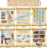 Стенды для кабинета иностранного языка