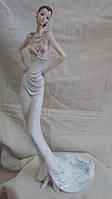 Статуэтка Девушка в белом платье размер 44*18*14, фото 1