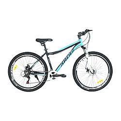 """Велосипед ARDIS Cleo 27.5"""" 18"""" Черно-бирюзовый"""