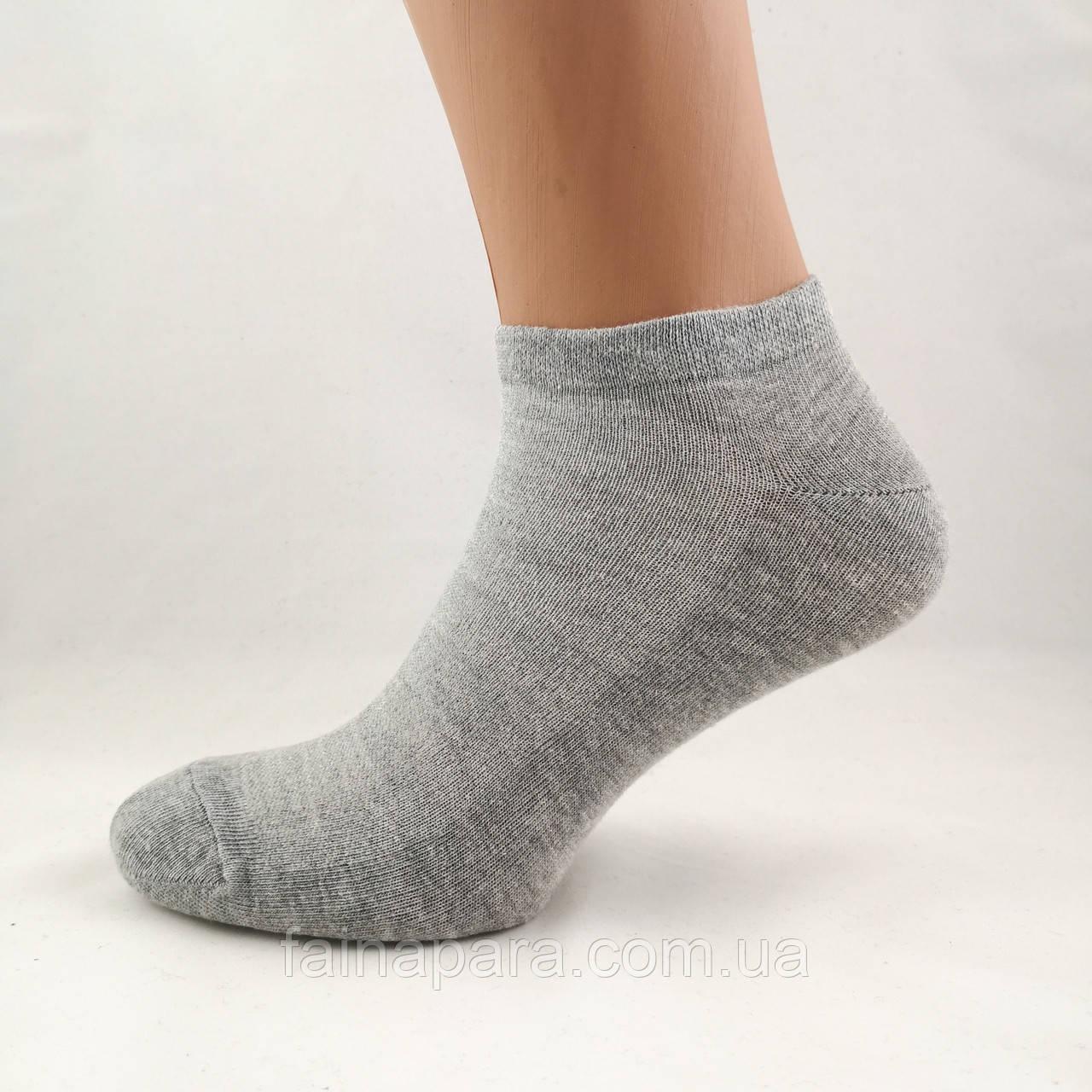 Бамбуковые серые короткие мужские носки сетка Marjinal Турция