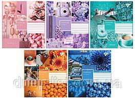 """Тетрадь 60 листов клетка """"YES"""" / Collage pantone"""