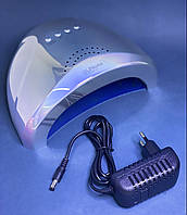 Лампа для нігтів led/uv Sun One голограма срібло 48 вт