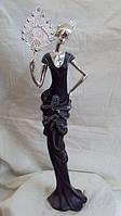 Статуэтка Девушка с веером высота 48см, фото 1