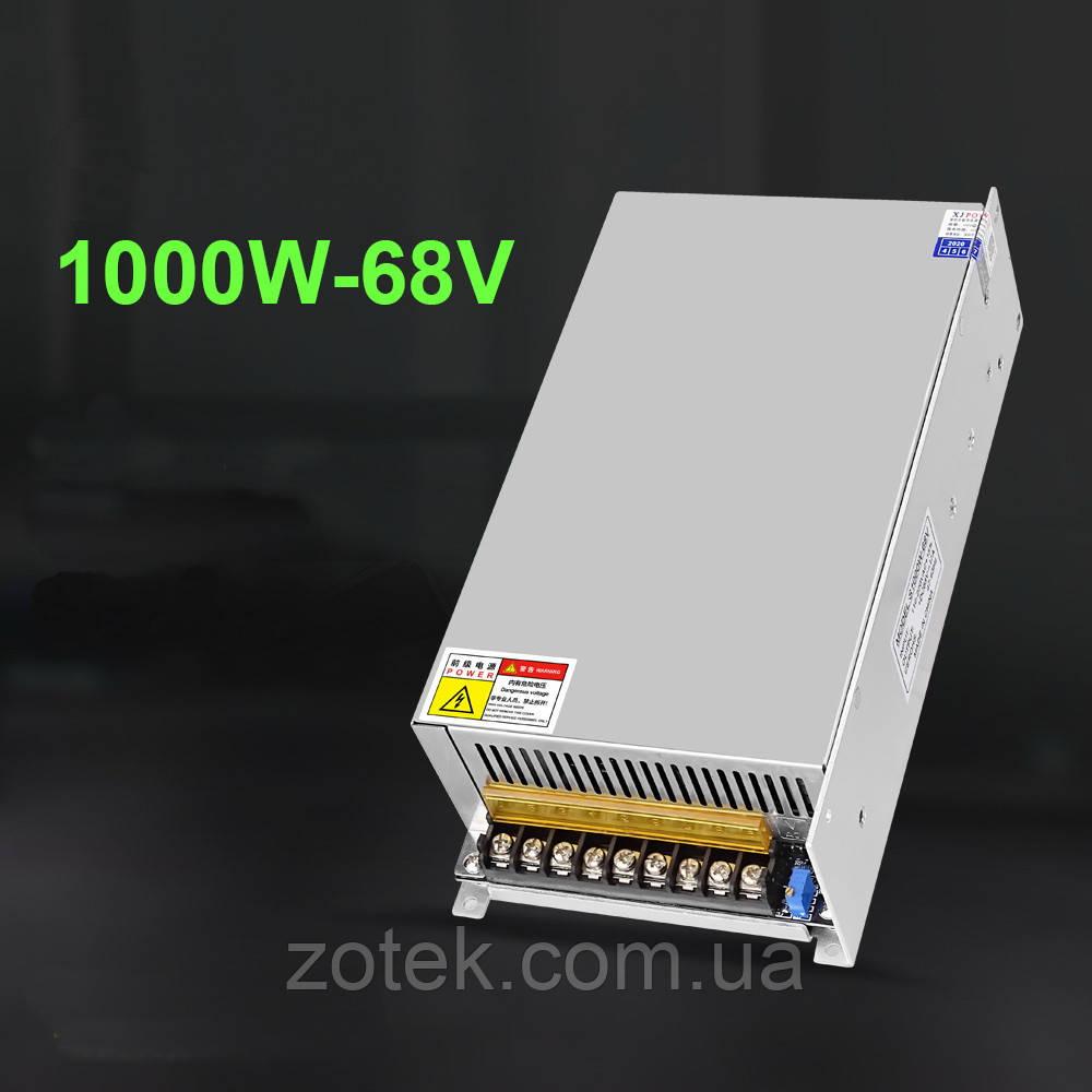 Імпульсний джерело блок живлення XJ S-1000-68V 17A 1000W для RD6018 68в 17а