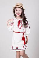 Вышитое детское платье для девочки Арина, фото 1