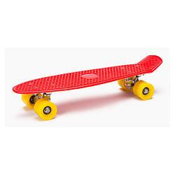Пенни борд (скейтборд) CROSSRIDE CROSSY Красный