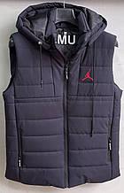 Жилет чоловічий стеганний модний JORDAN на синтепоні розмір 48-56 купити оптом зі складу 7 км Одеса