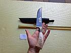 Нож. Пчак узбекский.  Рукоять рог косули. ШХ-15. Нож ручной работы, фото 5