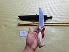 Нож. Пчак узбекский.  Рукоять рог косули. ШХ-15. Нож ручной работы, фото 6