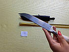 Нож. Пчак узбекский.  Рукоять рог косули. ШХ-15. Нож ручной работы, фото 8