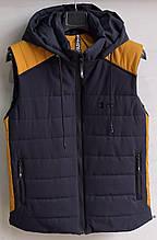 Жилет чоловічий стеганний модний UNDER ARMUR на синтепоні розмір 48-56 купити оптом зі складу 7 км Одеса