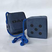 Кубики декор DAF 10*10 сині (2шт)