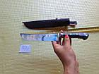 Пчак узбекский. Настоящий узбекский нож из г. Чуст. Сталь  ШХ-15, фото 9