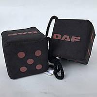Кубики декор DAF 10*10 чорні (2шт)